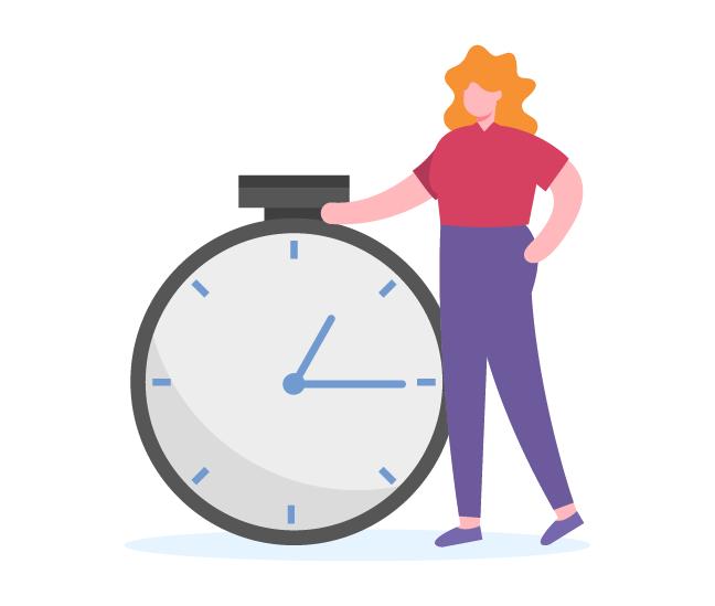 asigna un determinado tiempo a cada tarea con chronos